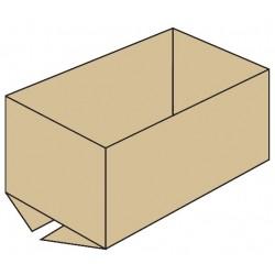 Caja sin solapa superior