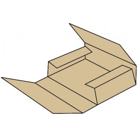 Caja semi automontable