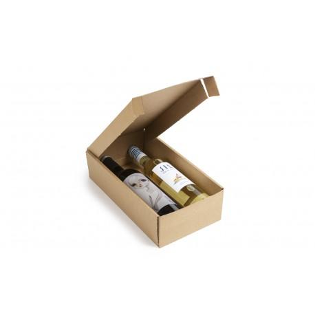 cajas para 2 botellas