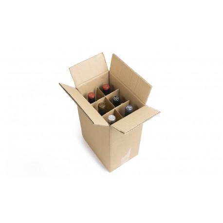 Cajas para 6 botellas