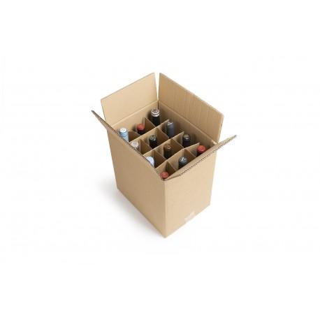 Cajas para 12 botellas