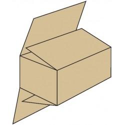 Caja con solapas grandes